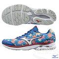 MIZUNO 美津濃 WAVE RIDER 20 男慢跑鞋 (楓葉*銀白) FUJI 富士馬拉松紀念鞋款 限量!