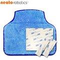 【美國 Neato】專用拖布套件組(含拖布、3M背膠魔鬼氈)