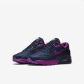 [ FEEL 9s ] NIKE 女 AIR MAX 90 ULTRA SE 復古鞋 藍/紫 -844600400