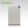 【MELON】行動電源 超薄 輕巧 是機身也是線 內附Micro USB + iPhone Lightning轉接 兩色可選 2500mAh PB-020A