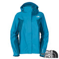 【贈雙人保暖毛毯】The North Face 女 Gore-Tex 兩件式防水保暖外套 (內 Polartec Wind Pro防風刷毛外套) F13P 藍/白