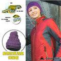 【EasyMain 衣力美】頂級 Polartec Alpha 超輕量動態防風透氣保暖帽子(類羽絨纖維 可水洗)質輕快乾/防潑水 適登山健行滑雪 H1601 紫色