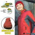 【EasyMain 衣力美】頂級 Polartec Alpha 超輕量動態防風透氣保暖帽子(類羽絨纖維 可水洗)質輕快乾/防潑水 適登山健行滑雪 H1601 紅色