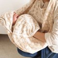 日本hoppetta有機棉軟綿綿雪花浴巾圍裙 -樂活美遞