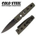 【詮國】Cold Steel - HOLD OUT II 黑刃平刃折刀 / 橄欖綠柄 / CTS-XHP鋼 - 11HLVG