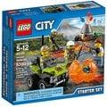 LEGO 樂高~CITY 樂高城市系列~Volcano Starter Set 火山基礎組合 LEGO 60120(06900299)