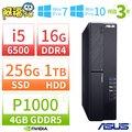 【阿福3C】專案限量下殺 ↘華碩 ASUS H110 四核商用電腦【i5-6400 4G 1TB DVDRW Win7Pro】