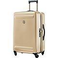 超值出清↘7折VICTORINOX 瑞士維氏Etherius 輕量可擴充26吋硬殼行李箱-金色