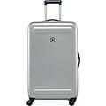 超值出清↘7折VICTORINOX 瑞士維氏Etherius 輕量可擴充30吋硬殼行李箱-銀色