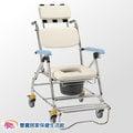 均佳 鋁合金背可調收合洗澡便器椅 馬桶椅 便盆椅 JCS-207