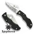 【詮國】Spyderco 蜘蛛 - Ladybug III 小瓢蟲3代 / 齒刃折刀 / VG-10 不鏽鋼 - LBKS3
