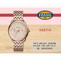 CASIO 時計屋 FOSSIL手錶 ES3713 女錶 石英錶 不鏽鋼錶帶 防水(另有ES4006 ES4007)
