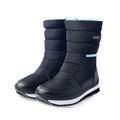 【展示品】PolarStar 中性 防潑水保暖雪鞋 (男女適用 / 內刷毛 / 冰爪) 雪靴『迷霧黑』P16630 NG . 福利品
