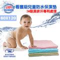 【精靈工廠】幸運草系列~3M吸濕排汗專利~兒童防水保潔墊60X120(B0036-A)