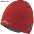 Mont-Bell 抗風刷毛保暖帽/登山毛帽/滑雪/旅遊 可遮耳朵 1108843 PAPR 椒紅
