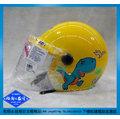 《福利社》ZEUS 瑞獅 208 W219 ZS-208 黃色 恐龍 附鏡片 全可拆洗 兒童半罩 動物 安全帽