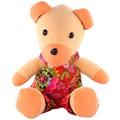 09-1025*29cm背帶熊熊公仔閨蜜生日禮物毛絨玩具結婚慶布娃娃兒童創意抱枕女孩