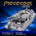百夫長坦克(銀色)百夫長坦克 拼酷DIY全金屬建筑3D拼裝模型創意生日禮物玩具擺件