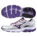 【登瑞體育】MIZUNO 女款慢跑鞋 銀紫/低足弓/馬拉松/初學者/耐磨/跑步 J1GF154967