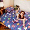 LUST寢具 【新生活eazy系列-夢想星光】單人3.5X6.2-/床包/枕套/薄被套6x7尺組、台灣製
