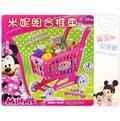 麗嬰兒童玩具館~扮家家酒-Disney迪士尼-米妮mini 超市購物推車.蔬果組合大推車