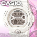 CASIO 時計屋 卡西歐手錶 BABY-G BG-6903-7B 女錶 橡膠錶帶 冷光 倒數計時 碼錶 兩地時間 保固