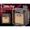 【小麥老師樂器館】現貨公司貨!英國 Laney LA-10 10瓦 吉他音箱 古典吉他 民謠吉他 木吉他 LA10