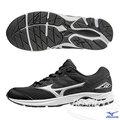 MIZUNO 美津濃 WAVE RIDER 20 Jr. 大童鞋(黑*白) 親子鞋