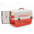 【強棒寵物 火速出貨】皇冠新型雙色寵愛籠(小)644A寵物提籠/外出提籠/運輸籠/手提籠/狗貓皆可適用唷~