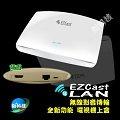 EZCast LAN 無線影音顯示盒 WIFI路由分享器 影音電視盒 EZChannel 手機串流 同步傳輸 鏡像 投影大螢幕 ADSL APP