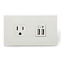 壁上型/埋入式USB充電插座 - USB插座暨插座面板
