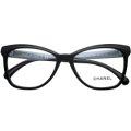 新款CHANEL香奈兒鏡框女正品時尚潮流復古優雅黑框近視眼鏡架3353 501