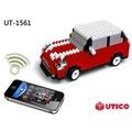 【UTICO微型積木】智慧手機遙控積木車-MINI 古博 / 遙控車 1561