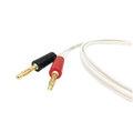 視紀音響 瑞典 SUPRA Classic Mini 1.6 手工 喇叭線 SG6027 鍍金 香蕉喇叭接頭 一對 1米