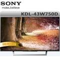 SONY 43吋 液晶電視 KDL-43W750D