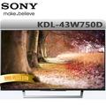 SONY索尼 43吋 液晶電視 KDL-43W750D