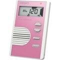 『立恩樂器』 SEIKO DM71 液晶顯示 名片型 節拍器 5色可選 DM71 (粉紅色款)