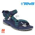 【Teva】【全方位運動戶外館】男款 Terra Fi Lite 經典緹花織帶涼鞋 -海藍綠(1001473ANNV)