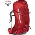Osprey 後背包/登山背包/背包客/背包/健行 Ariel AG 55 精靈55升登山背包 女款 熱情紅