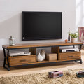 Homelike 愛德琳工業風6尺電視櫃 木心板 電視架