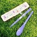日本正版 MOOMIN 嚕嚕米 小不點 隨身二件式筷子湯匙餐具組 COCOS SN258