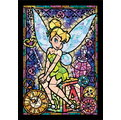 266片*透明mini【日本進口拼圖】Disney迪士尼#小飛俠彼得潘-小精靈Tinker Bell 透明迷你拼圖 DSG-266-757