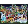 1000片*夜光極小片【日本進口拼圖】Disney迪士尼#花車遊行之水晶燈舞會 極小片拼圖 DW-1000-449