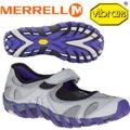 【MERRELL美國 女款 WATERPRO PANDI 〈淺灰/紫〉】休閒鞋/登山鞋/運動鞋/ML03082