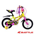 【BATTLE】Eaglets 小美鷹 12吋 高碳鋼 兒童三輪車 附加輔助輪