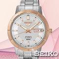 SEIKO手錶專賣 時計屋 精工 SNK894J1 玫瑰金 機械錶 女錶 自動上鍊 礦石鏡面 防水 不鏽鋼錶帶