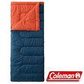 Coleman 信封型表演者睡袋II/睡蛋 適溫5度/露營化纖寢袋/午睡保暖被/懶人毯CM-27262 海軍藍
