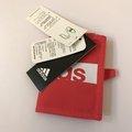 ★大包小包★ 入門必備配件【ADIDAS】繽紛運動束帶兩折短夾 粉紅 S99982