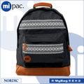 mi pac 後背包 740101-001 黑色 北歐圖騰 Nordic系列 電腦後背包 MyBag得意時袋