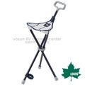 【日本 LOGOS】熱賣款 直條紋摩登拐杖椅(摺疊健行椅.收納體積小) 休閒椅.手杖椅.二用登山杖.適露營居家/LG73173059
